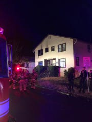 Authorities arrived around 2:30 a.m. to the apartment complex on the 300 block of 14th street SE where one of the 10 units was heavily involved in flames, according to Salem Fire Department officials.