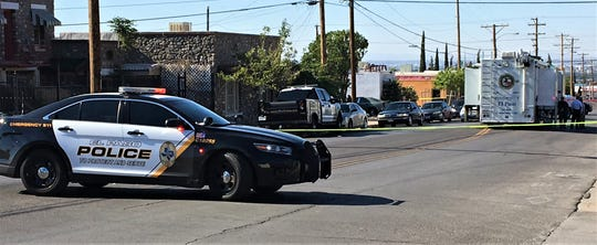 El Paso police investigate a homicide at a home in the 2500 block of North Piedras Street in the Central area.