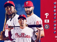 Lineups for Phillies-Nationals Sunday as Phils try to salvage series finale