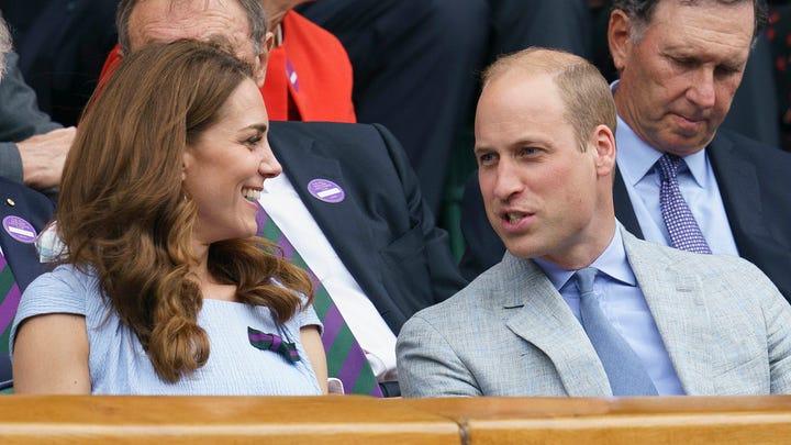 Tennis date! Prince William, Duchess Kate step out for Wimbledon men's final match