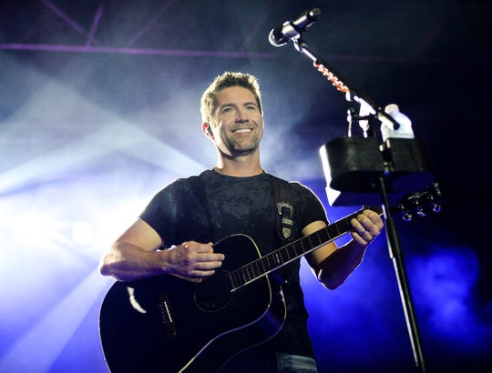 Josh Turner performs at the 2018 Celebrate Anderson in the William A. Floyd Amphitheater at the Anderson Sports and Entertainment Complex in Anderson on Sunday, September 2, 2018.