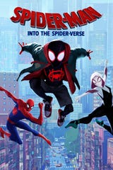 """Spidy goes animated in 2018's """"Spider-Man: Into the Spider-Verse,"""" showing Friday evening at the Sci-Fi Film Festival."""