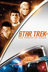 """The late afternoon showing Saturday at the Sci-Fi Film Festival is """"Star Treek II: The Wrath of Khan."""""""