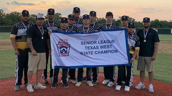 The Snyder Senior League All-Star baseball team defeated Pecos 11-1 in Sunday's Texas West Little League state championship.