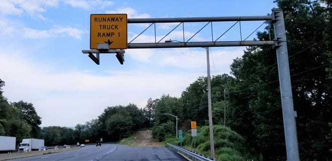 The North Carolina DOT does regularly maintain and regrade runaway truck ramps like this one on I-40 east of Asheville.