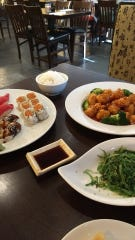 Jennifer Cadoret was happy to find more sushi for her husband and other dishes for herself at Toyo in Suntree.