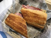 Robyn Greene raved about the Havana Sammich at Wanderlust Cafe in Cocoa Village.