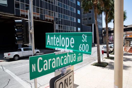 North Carancahua Street in Corpus Christi.