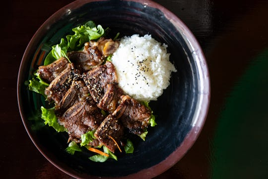 Crescendo Kalbi special at Corpus Christi's Crescendo Cafe located at 5118 S. Staples St.