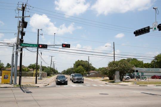 Kostroyz Road in Corpus Christi.