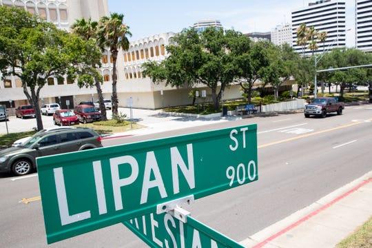 Lipan Street in Corpus Christi.