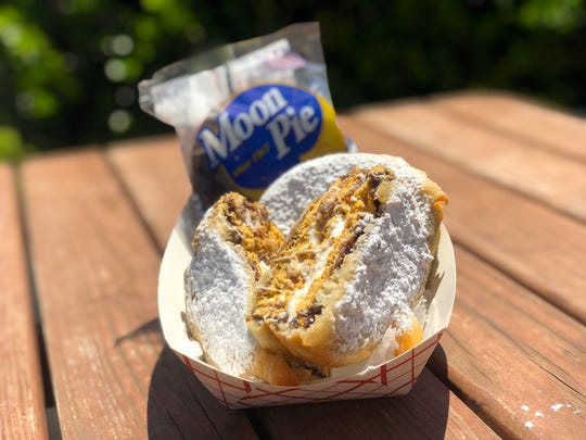 Deep-fried  Moon Pies are a Wildwood Boardwalk treat this summer.