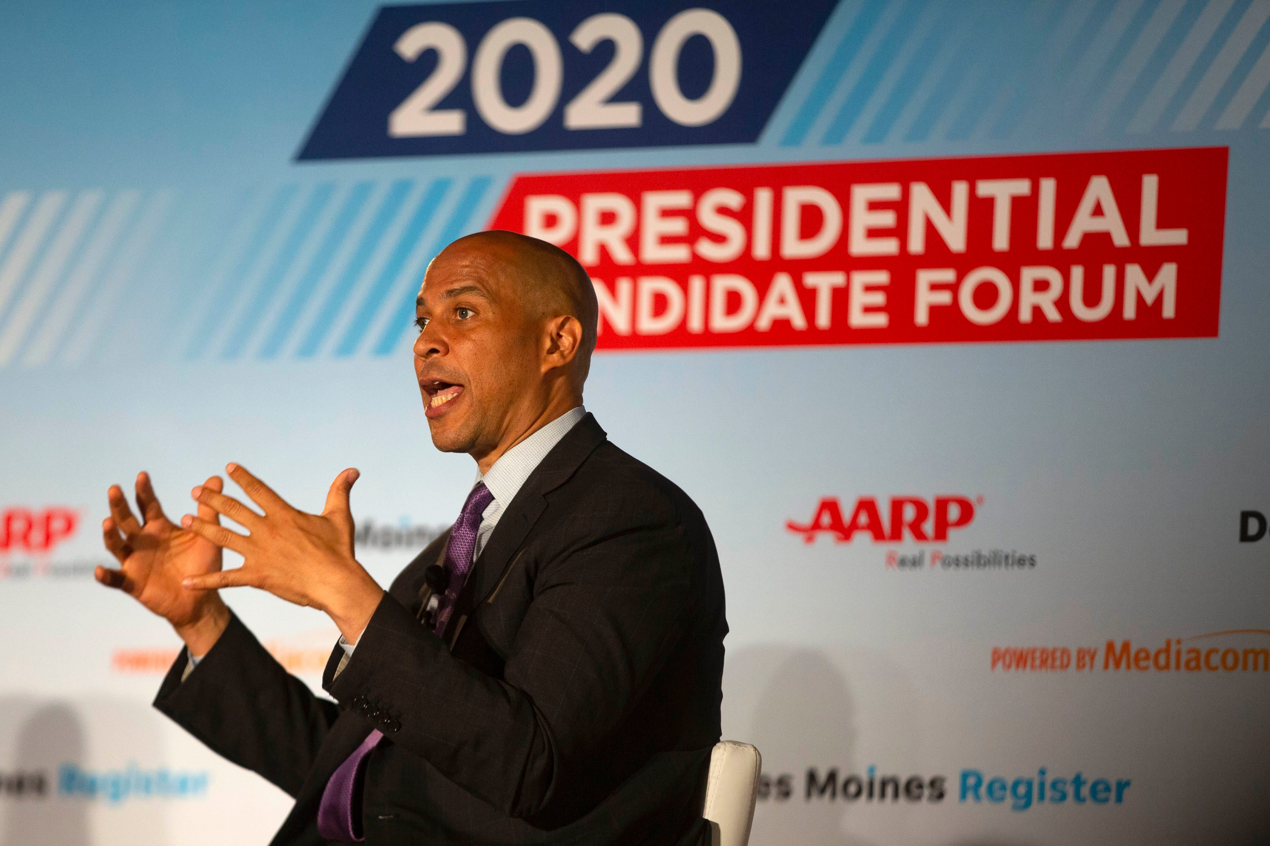 Watch: Sen. Cory Booker meets with the Register, 12:30 p.m. Tuesday