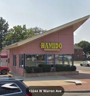 Hamido Restaurant in Dearborn, Michigan. ICE said it conducted an operation at the Middle Eastern restaurant on July 15, 2018. No arrests were made.