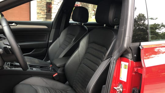 Interior of 2019 VW Arteon
