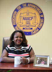 Detroit NAACP Chapter Executive Director Kamilia Landrum