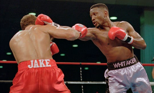 """Pernell """"Sweet Pea"""" Whitaker in 1995."""