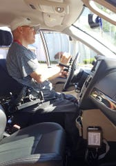 Easterseals Rehabilitation Center announced a new driver's training vehicle Monday. The new highly-equippedChrysler minivan— donated byAudubon Chrysler of Henderson— will allow more individuals with disabilities the opportunity to control their own transportation.