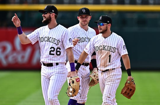 The Colorado Rockies host the San Francisco Giants at 6:40 p.m. Tuesday.