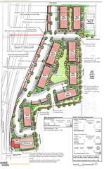 Mosaic Apartments will get a first look from the city's planning department July 24. The project includes 160 units in eight buildings at Vine Drive and Timberline Road.