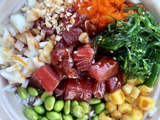 Poke Fusion offers poke bowls and more at University Village in Estero.