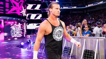 Dolph Ziggler talks to reporter Charles Runnells about his feud with Kofi Kingston. The wrestlers face off Monday at Hertz Arena for WWE Live.