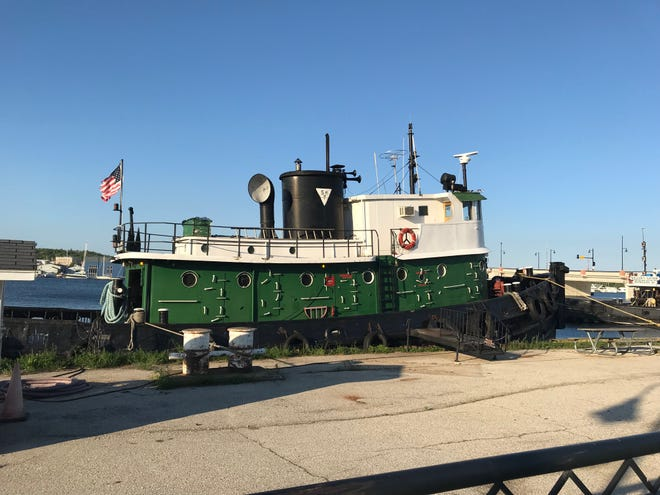 One of several tugboats now owned by Don and Julie Sarter.