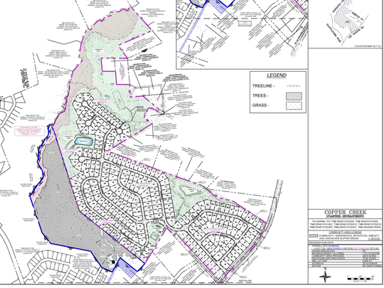 Copper Creek subdivision residents in the Scuffletown area of Greenville County oppose a change in zoning that would allow 51 more homes to be built in their 272-home subdivision.