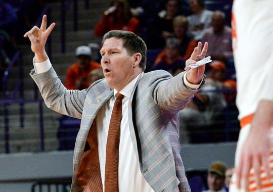 Brad Brownell's Clemson men's basketball team found success at the World University Games, going 6-0 to win the gold medal for the United States. Photo is from 2018-19 season.