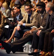Amare Stoudemire, shown second from right attending the Spring 2012 collection runway show from designer Richard Chai, picked New York in part because of his love for fashion.