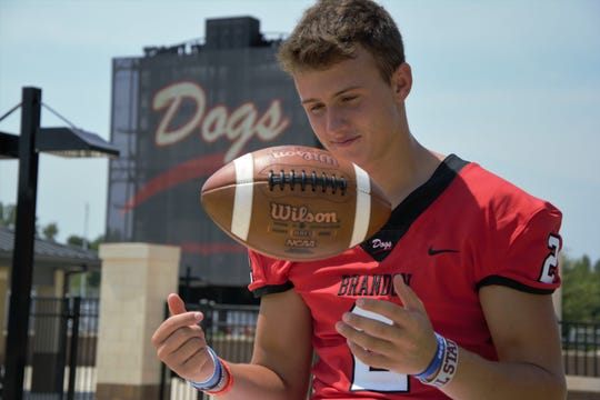 Brandon quarterback Will Rogers led Class 6A in passing last year and is a member of the 2019 Dandy Dozen.