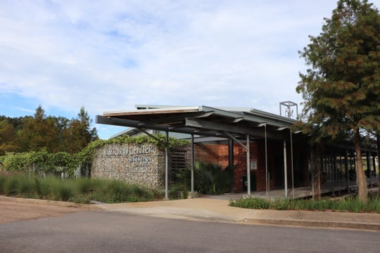 The St. Landry Parish Visitor Center is a destination in itself with its local and eco-friendly elements.