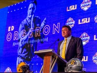 LSU is in position 'to take the next step,' says a 'more comfortable' Coach Orgeron