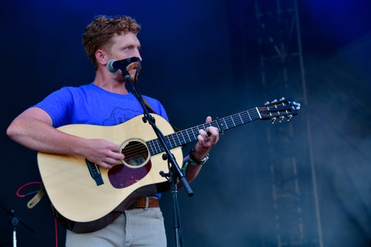 Tyler Childers performed on the Mast Stage on the third and final day of Forecastle on July 14, 2019.