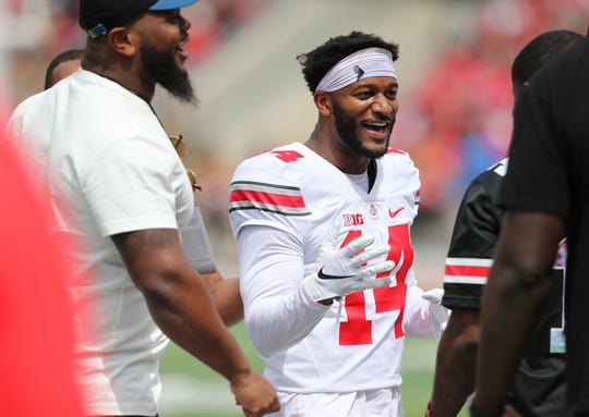 Veteran receiver K.J. Hill should help ease Ohio State's transition to a new head coach and new starting quarterback, both of whom will be hot topics of conversation at Big Ten Media Days this week in Chicago.