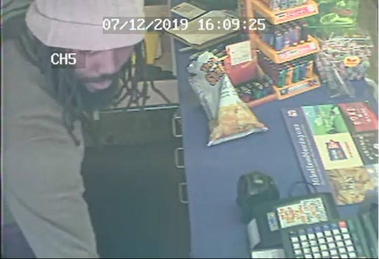 The Marion Police Department was looking for information on the identity of this person, alleged to have robbed the Marathon on East Center Street.