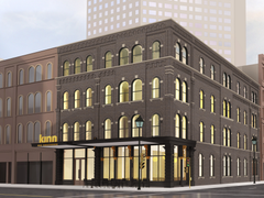 Boutique hotel planned for downtown historic building again downsized with hopes of winning city approval