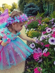Kids are encouraged to dress up as their favorite fairy tale characters at the Boerner Botanical Gardens' annual Enchanted Evening event.