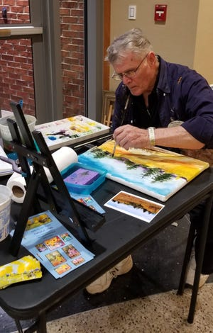 Artist Jerry Preator is the featured artist from the Ozark Regional Arts Council. Preator's work is being featured through the month of July at the Arkansas State University-Mountain Home Art Galley located on the second floor of The Sheid.