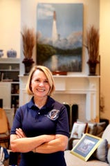 Astronaut Dr. Rhea Seddon in her Murfreesboro home, on Wednesday, July 10, 2019.