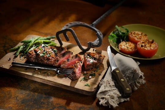 E3 Chophouse serves beef from its own Kansas ranch and other E3 certified ranches.