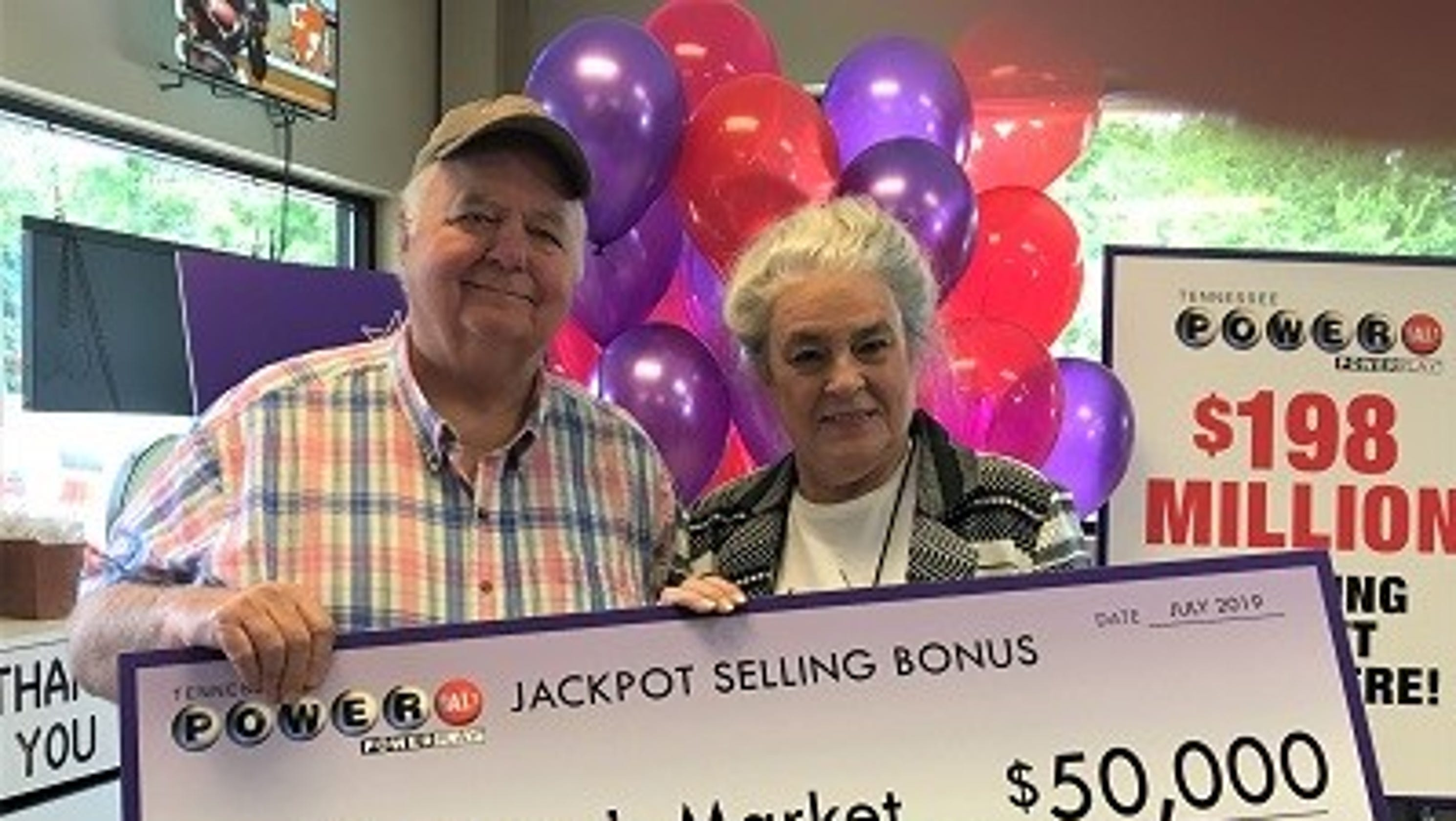 Tennessee Powerball winner bought $198M ticket at Worsham's
