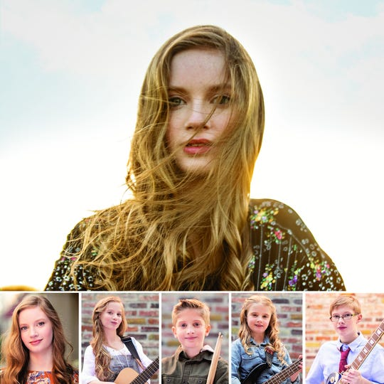 Emma Borders and her four siblings have formed the Borders Band together and are studying under the Annie Moses Band.