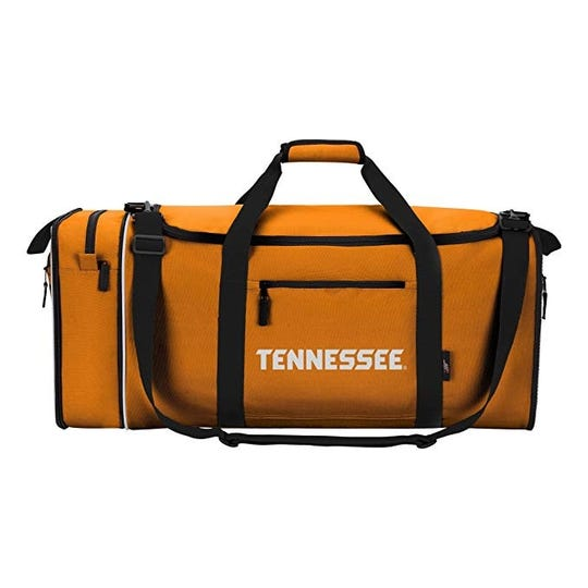 A UT duffel bag for sale on Amazon's Prime Day