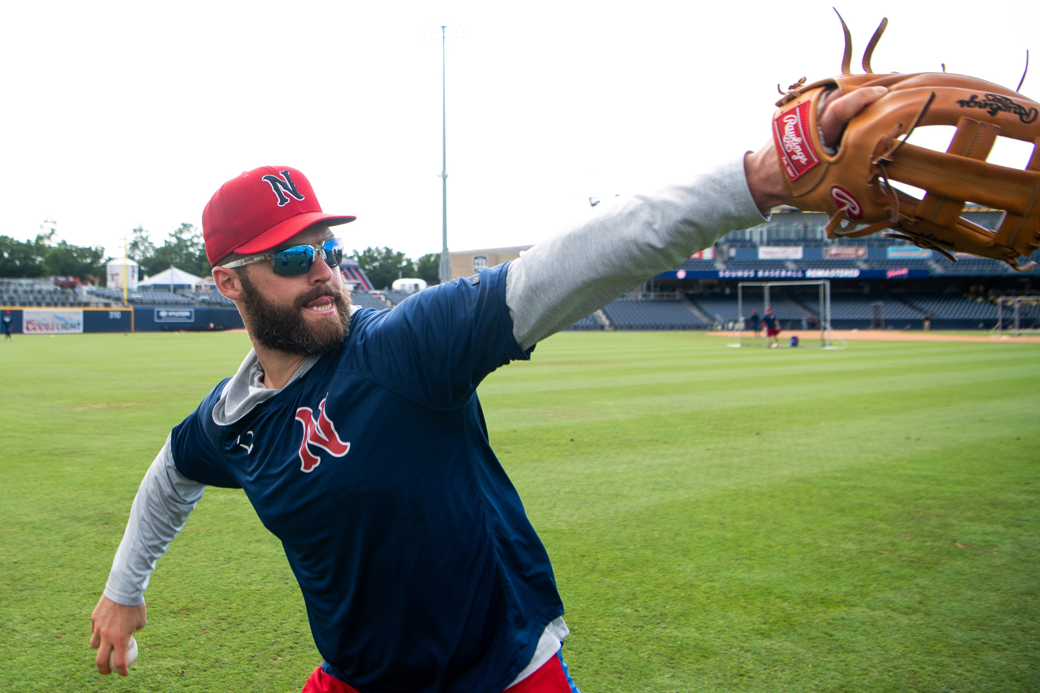 Nashville Sounds' Matt Davidson on hitting, pitching and fulfilling his  childhood dreams