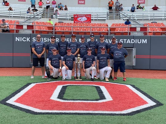 The 16U Athletics beat the Westerville A's 6-5 in eight innings Sunday to win the Buckeye Elite.