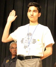 Deming High senior Ahmad Alsheikh will be in Washington DC July 19-26.