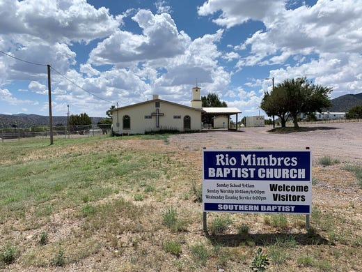 Religion, politics intersect at New Mexico town hall