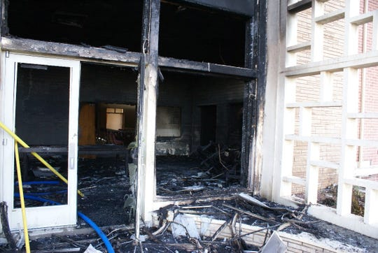 The Church of Jesus Christ of Latter-day Saints on West Apache street was damaged early June 1, 2019 after an arsonist set it ablaze.