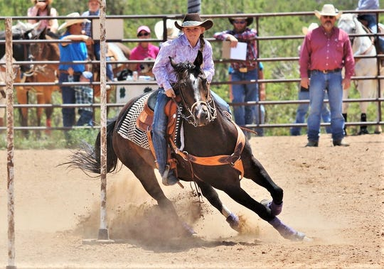 A ranch rodeo allows the next generation to show off their skills.                               ""
